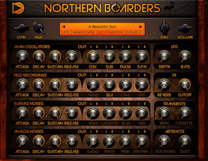 SampleScience Intros Northern Boarders 'Vintage Sound Machine'