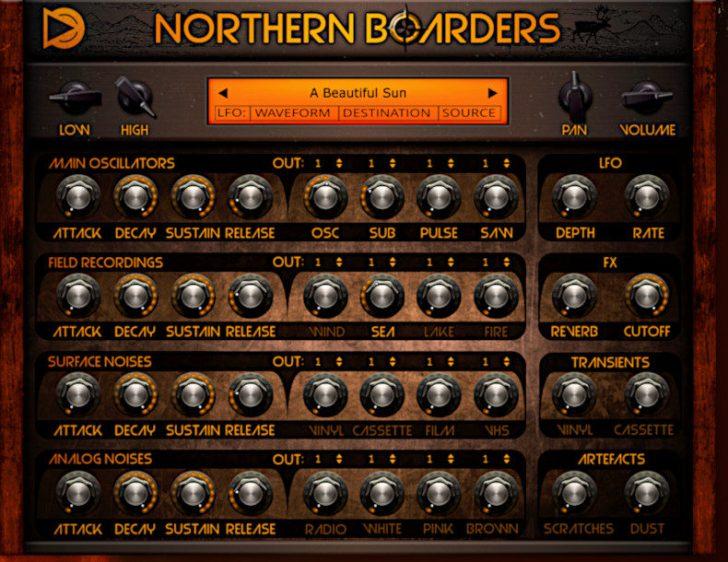 SampleScience Intros Northern Boarders 'Vintage Sound Machine'