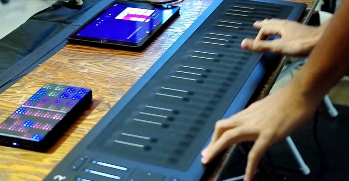 Expressive Performance With MPE Using ROLI Instruments