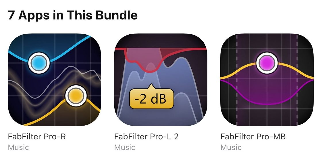 FabFilter Pro Plugins Now Available On iOS | Synthtopia