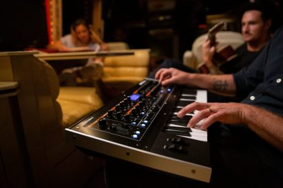 Roland-JupiterXm-in-studio