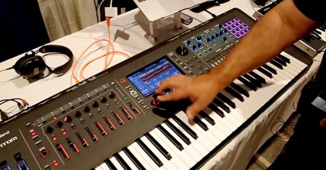 Roland Debuts New Fantom Synthesizer At Knobcon 2019
