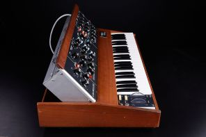 Herbie 2020 Minimoog_Left Side