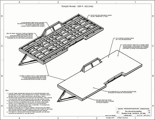 Tiny House Trailer Plans Design