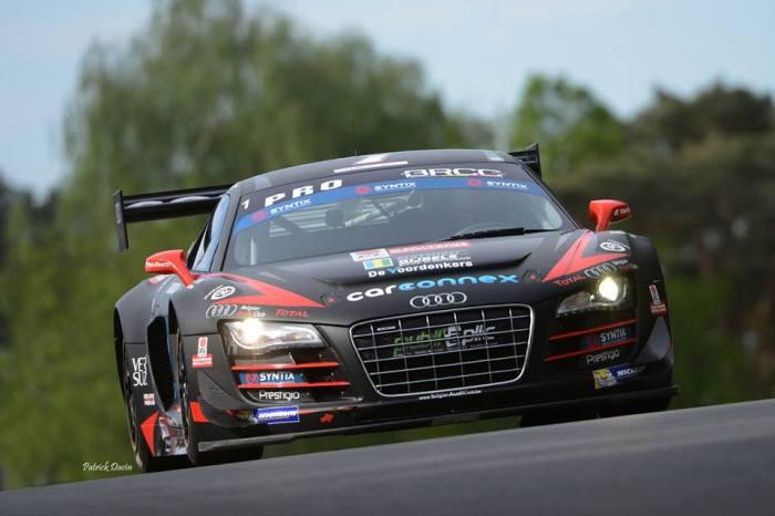 PK Carsport Patrick Devin's Audi R8 in NASCAR EURO BRCC 2014