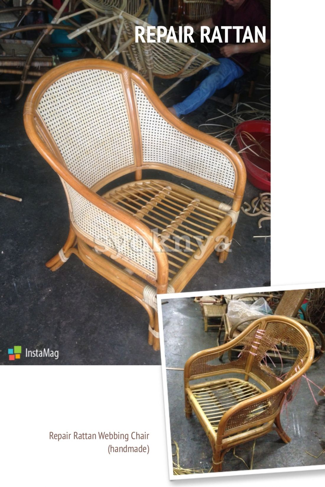 Repair Rattan Chair Seat