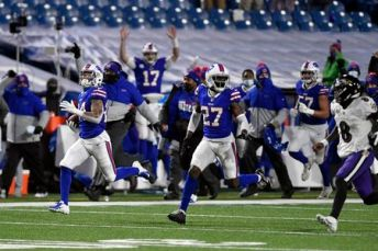 Bills fans react to Taron Johnson pick-six at Transit Drive-In (watch) -  syracuse.com
