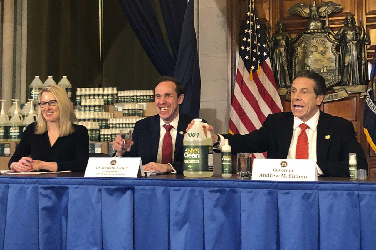Coronavirus update: NY begins distributing free hand sanitizer to ...