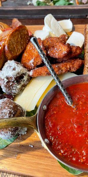 Dinner at Board & Bar Charcuterie, Syracuse, N.Y.