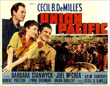 Image result for union pacific 1939 POSTER