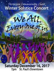 Syracuse Community Choir: Winter Solstice Concert @ Saint Paul's Episcopal Cathedral |  |  |