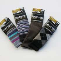 These socks aren't the tube socks you found under the tree as a kid. Try all non-cotton socks ($10 to $17 per pair) that wick away moisture and won't slide, slip or cause blisters in running or walking shoes, cleats, boots or casual shoes.