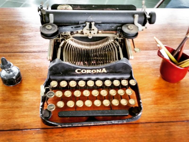 Hemingway's typewriter at Finca Vigia
