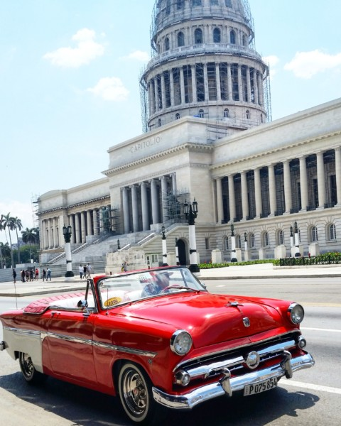Classic Cars at the Capitol - Havana