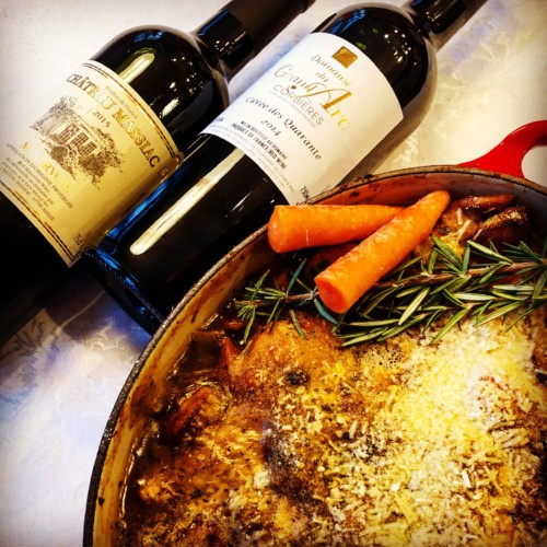 Staying Warm the French Way – Cassoulet and Wine