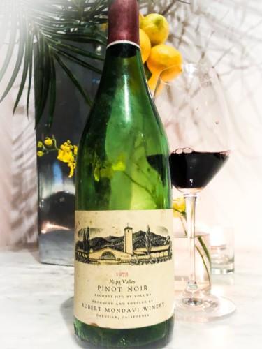 1978 Robert Mondavi Pinot Noir