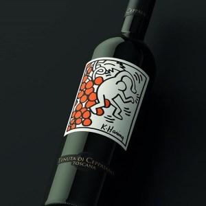 Keith Haring Wine Tenuta di Ceppaiano