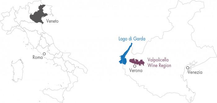 Valpolicella Wine Map