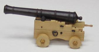 Naval Cannon Carriage Kit