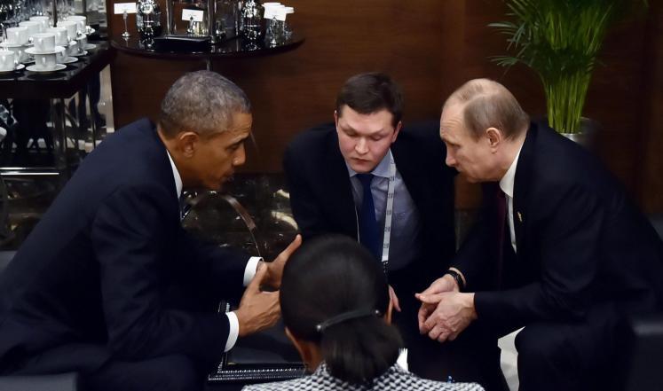 أوباما لبوتين: على بشار الأسد ترك السلطة