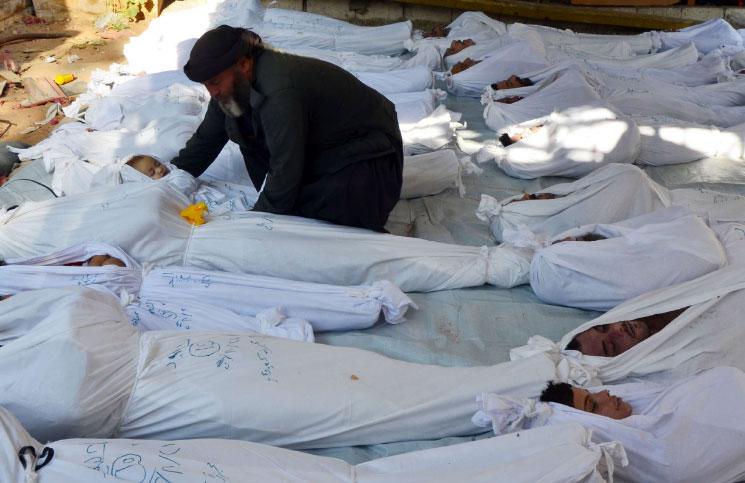 روسيا تفشل في تغيير مسرح جريمة الكيميائي: جثث الضحايا في عهدة منظمة حظر الأسلحة الكيميائية