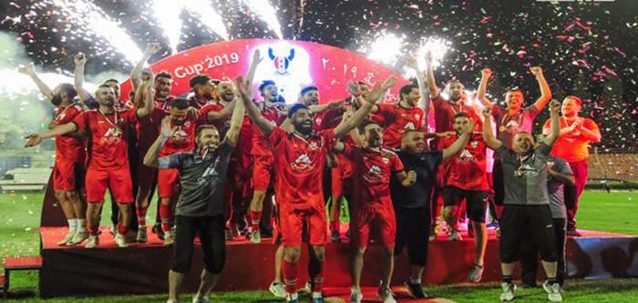 نادي الوثبة بطل لكأس سوريا 2019