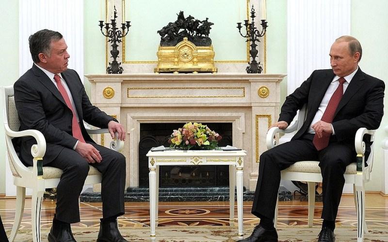 Syria-Intelligence-Président-Poutine-rencontre-le-roi-Adbullah-II-de-Jordanie-en-Russie