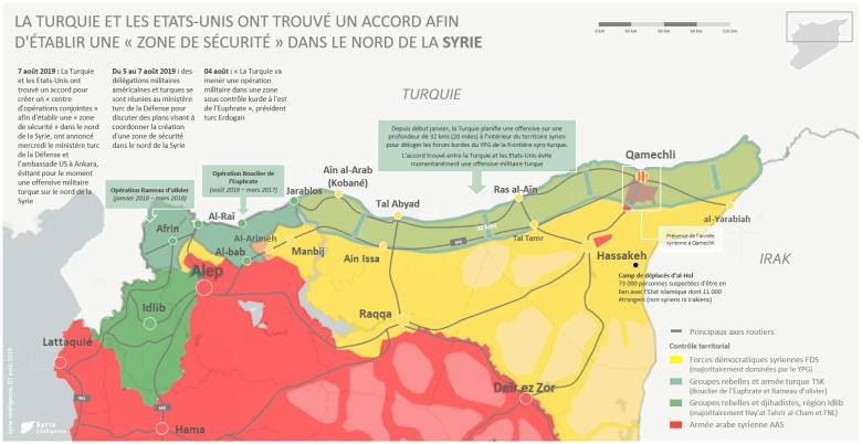 La Turquie et les Etats-Unis ont trouvé un accord afin d'établir une «zone de sécurité» dans le nord de la Syrie