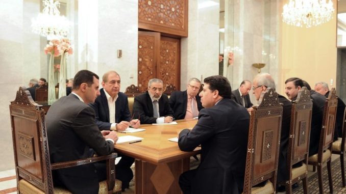 Syrina President meeting