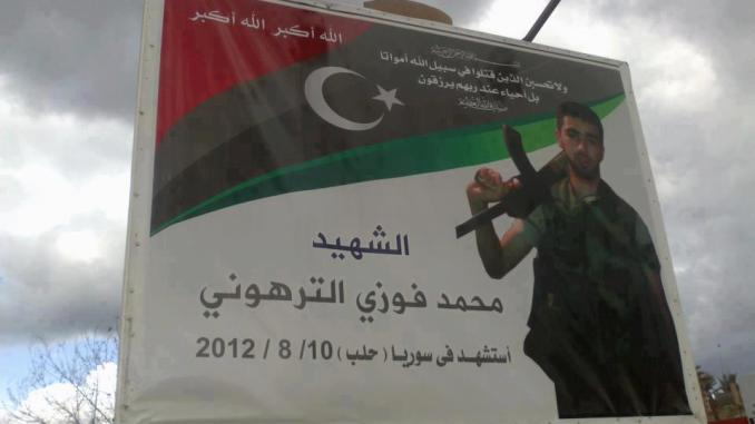 Libyan terrorist killed in Syria