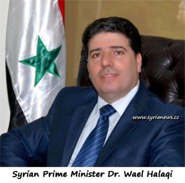 Syrian Prime Minister Dr. Wael Halaqi