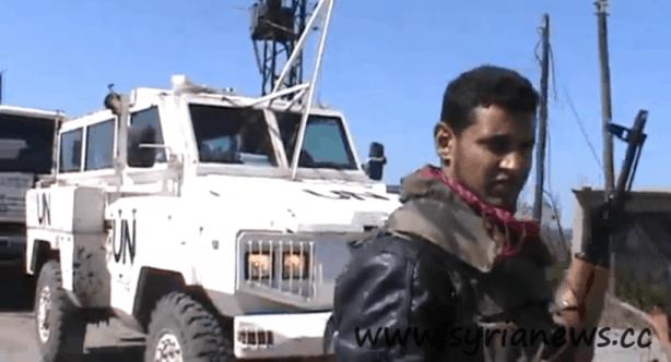 UN 'Virtually Indestructible' RG Nyala armored vehicle