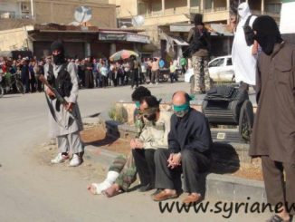 "Obama""s Nusra Front execute 3 men in a public square"