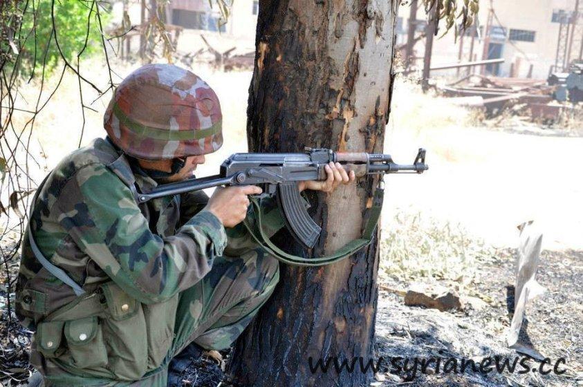 Syrian Arab Army soldier