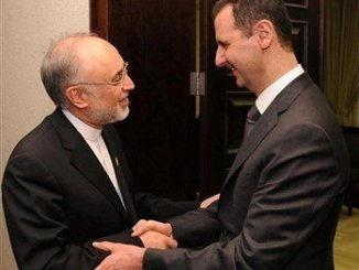 Assad receives Salehi after Israeli aggression