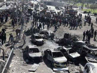 Bomb attack in Damascus (archive)