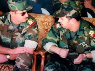 Maher al-Assad & Bashar al-Assad