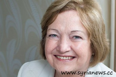 Nobel peace laureate Mairead Maguire