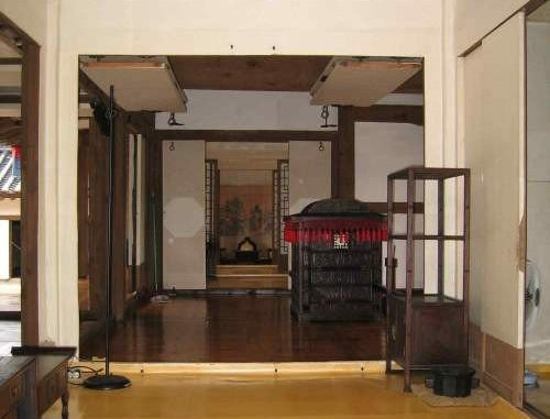 The interior of traditional house of korean