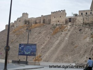 Syria, Aleppo, Citadel