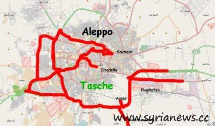 Terrorist Pocket in Province of Aleppo (Halab)