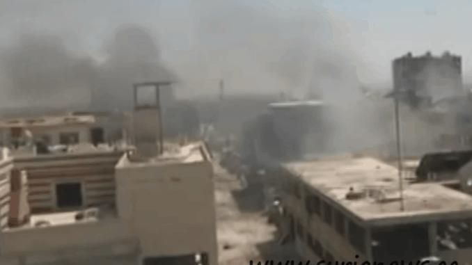 Damascus / Bombing