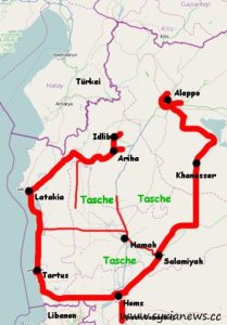 Terrorist Pocket in Syria`s Idlib