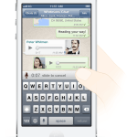 WhatsApp: Voice Messages @ iPhone 5