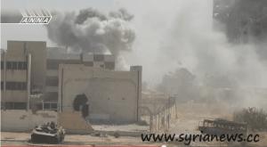 Syria: ANNA-news in Jobar