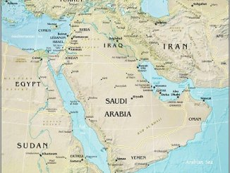Middle East (Source: CIA World Factbook)