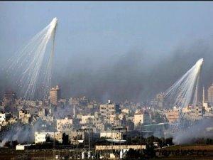Phosphorus bombs on Gaza.