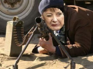 Merkel has not hit the targets in her first firing practices.