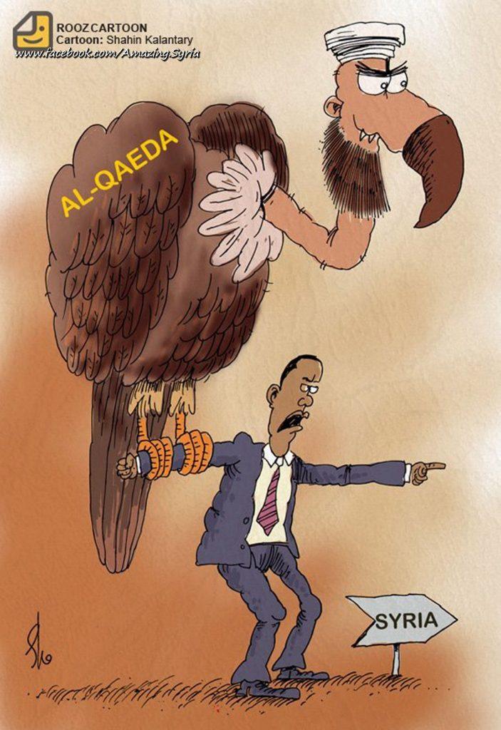 Qaeda eagle New UNSC Resolution on Syria Hypocrisy