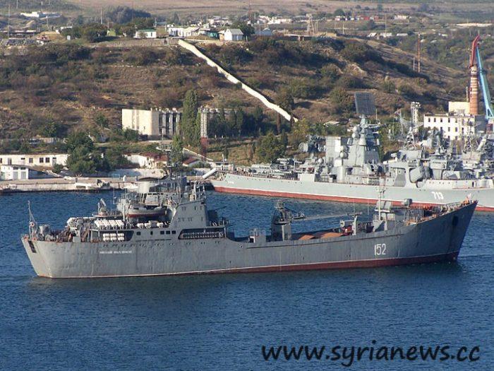 """Large Landing Ship """"Nikolay Filchenkov"""" (photo A.Brichevsky, 10/05/2006)"""